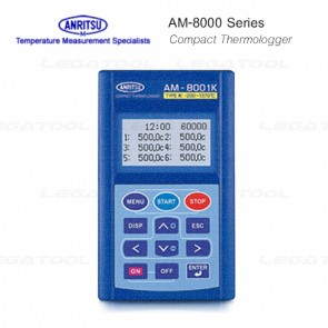 Anritsu AM-8000 series Compact Thermologger (Digital Thermometer)