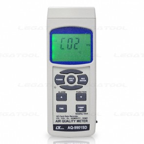 Lutron AQ-9901SD Air Quality Meter 6 in 1