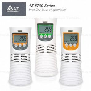 AZ 8760 Series Wet-Dry Bulb Hygrometer เครื่องวัดอุณหภูมิกระเปาะเปียก กระเปาะแห้ง