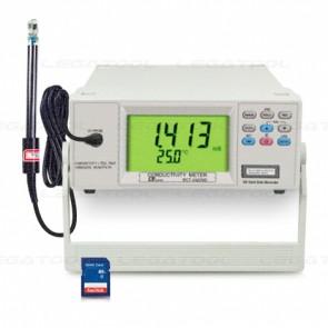 Lutron BCT-4320SD เครื่องวัดและบันทึก CD/ TDS/ Hardness/ Resisitivity แบบตั้งโต๊ะ | SD Card