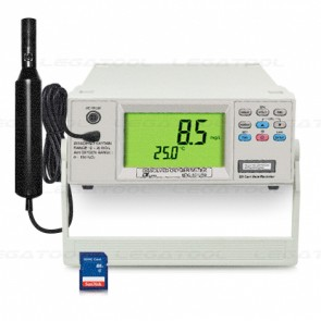 Lutron BDO-5513SD เครื่องวัดและบันทึกออกซิเจนในน้ำแบบตั้งโต๊ะ | SD Card (DO meter)