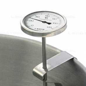 SK Sato BM-R-75 Bimetal Thermometer for Pot (0 to 120℃)