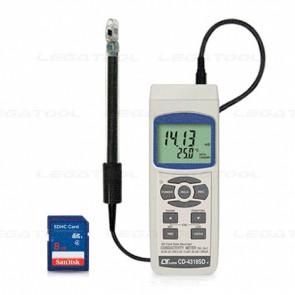 Lutron CD-4318SD เครื่องบันทึกค่าการนำไฟฟ้า (Precision) | SD Card (Conductivity & TDS meter)