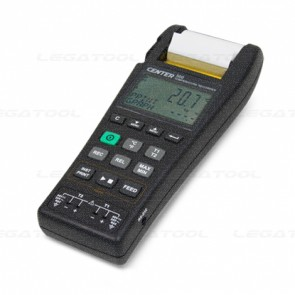 CENTER-500 Thermometer Data logger with printer 2 channels (Type K,J)