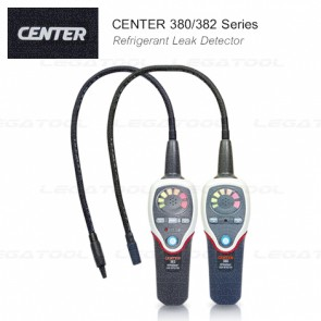 CENTER-380/382 Series Refrigerant Leak Detector