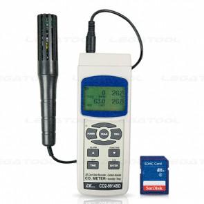 Lutron CO2-9914SD CO2 Meter   SD Card