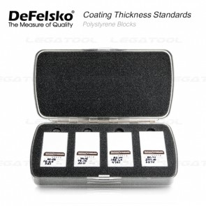 DeFelsko PT-STD-P Series Certified Polystyrene Blocks Standards
