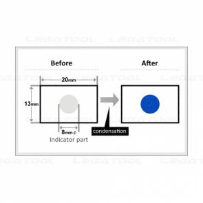 NiGK D-1 แถบเปรียนสีอุณหภูมิหยดน้ำค้าง Dew condensation | 200pcs/ 1pack