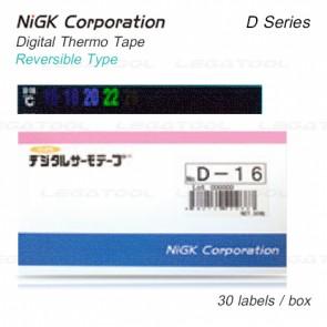 NiGK D Series แถบวัดอุณหภูมิแบบ Reversible type | -20 to 100°C | 30pcs/ 1pack