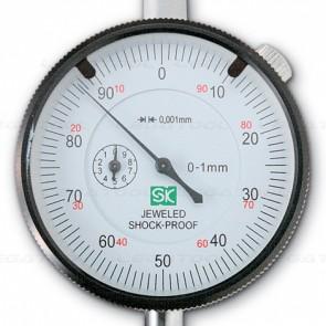 SK Niigataseiki DI-0160SC Dial Gauges with Shock-Proof (0 - 1mm)