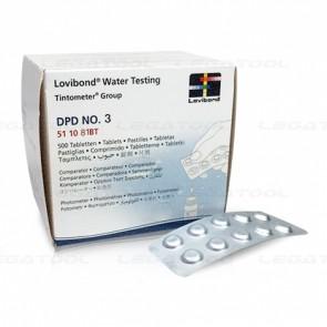 Lovibond RE-511082BT DPD No.3 Total Chlorine Regent Tablet