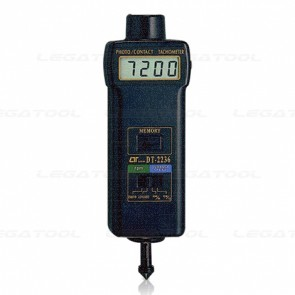 Lutron DT-2236 Photo & Contact Tachometer | Max.99,999 RPM