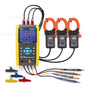 DW-6093SD Power Analyzer 3 Phase - SD Card Data logger