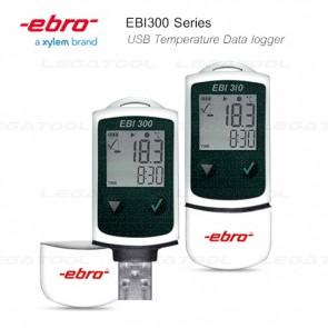Ebro EBI300 Series USB สำหรับบันทึกค่าอุณหภูมิ | มาตรฐาน IP65 (Digital Thermometer)