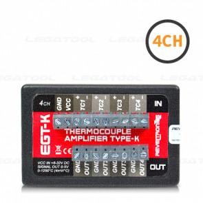 REVELTRONICS EGT-K 4-CH ตัวแปลงสัญญาณ Thermocouples (Type K) | Output 0-5V