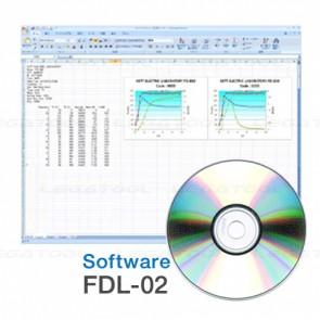 Kett FDL-02 โปรแกรม Data Logger Software