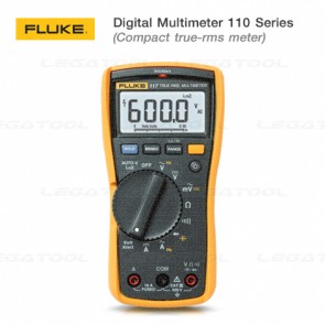 Fluke 110 Series Multimeters เครื่องวัดมัลติมิเตอร์แบบอเนกประสงค์