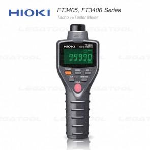 Hioki FT3405, FT3406 Series เครื่องวัดความเร็วรอบ