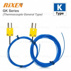 Rixen GK-03 Series General Temperature Probe (Type K) | Max 250℃