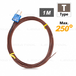 Rixen GT-03-10M โพรบวัดอุณหภูมิ Max. 250℃ (Type T)