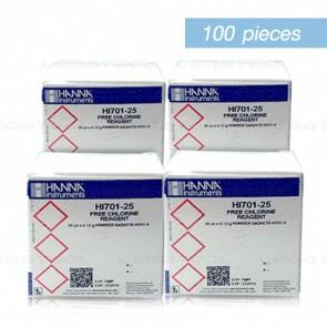 Hanna HI-701-25/4 รีเอเจนต์ทดสอบ Free Chlorine