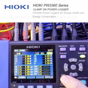 Hioki PW3360 Series Portable Clamp on Power Logger