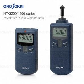 Onosokki HT-3200/4200 Series เครื่องวัดความเร็วรอบแบบพกพา