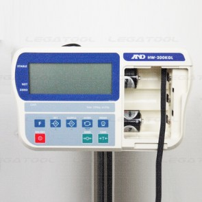 AND HW-200KGL Platform Scales | Max. 220Kg