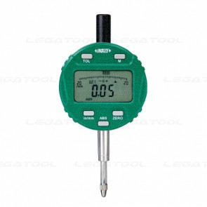 """INSIZE IN-2104-10 Digital Indicator with Rotated Display (12.7mm / 0.5"""")"""