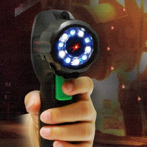 ILV-121H Infrared Thermometer with Leak Detecter Flashlight   With Hard case