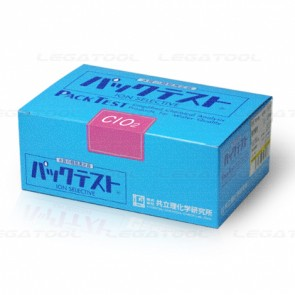 Kyoritsu Packtest WAK-ClO2 ชุดทดสอบคุณภาพน้ำค่า Chlorine Dioxide