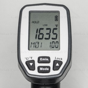 LEGA LT-1800GX NON-contact infrared thermometer (with thermocouple Type K) | 100 to 1,800℃