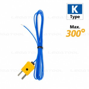 Lutron TP-01 Temperature Probes Max. 300℃ (Type K)