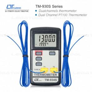 LUTRON TM-930S Series เครื่องวัดอุณหภูมิดิจิตอล