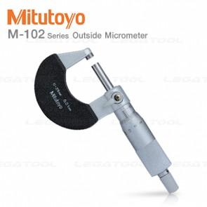 Mitutoyo M-102 Series ไมโครมิเตอร์ (Micrometer)