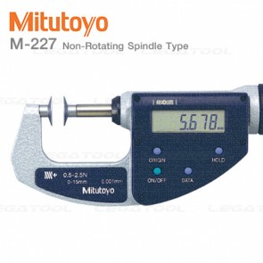 Mitutoyo M-227 Disk Micrometers Series Quickmike type with adjustable measuring force