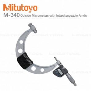 Mitutoyo M-340 Series ไมโครมิเตอร์สำหรับวัดด้านนอกแบบเปลี่ยนแกนวัดได้