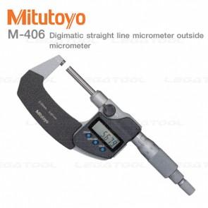 Mitutoyo M-406 Outside Micrometers Series ดิจิตอลไมโครมิเตอร์ (Micrometer)