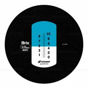 Atago MASTER-10M Brix Refractometer (Hand-Held)