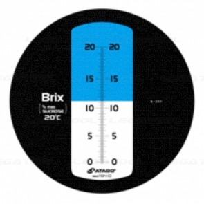 Atago MASTER-20M Brix Refractometer (Hand-Held)