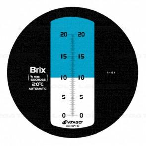 Atago MASTER-20PT Brix Refractometer