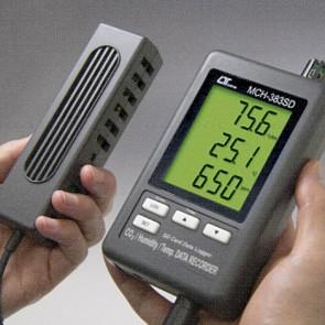 Lutron MCH-383SD CO2 Monitor - SD Card Data Logger