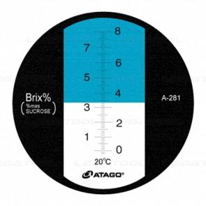 Atago N-8 alpha Brix Refractometer