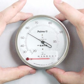 SK Sato PALMA-II Hair Hygrometer with Thermometer