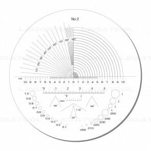 Peak PS-2-10X Reticle Scales No.2