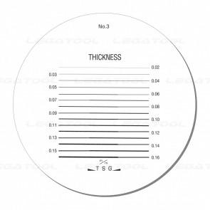 Peak PS-3-10X Reticle Scales No.3
