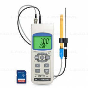 Lutron PH-230SD pH/ ORP Meter-SD Card Data Logger