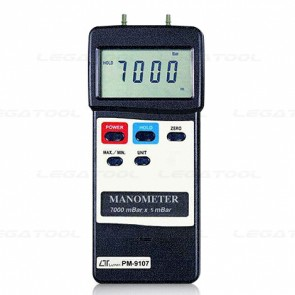 Lutron PM-9107 เครื่องวัดความดันดิจิตอลแบบพกพา (101.5 psi)