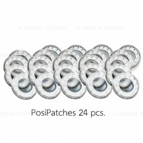 DeFelsko SSTPATCHP24 ชุดอุปกรณ์เสริมสำหรับทดสอบความเข้มข้นของเกลือที่ละลายน้ำได้ | PosiPatches 24 ชิ้น