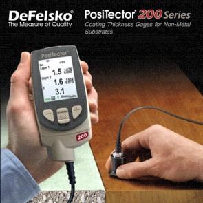 Defelsko Positector 200 Series โพรบสำหรับเครื่องวัดความหนาผิวเคลือบ